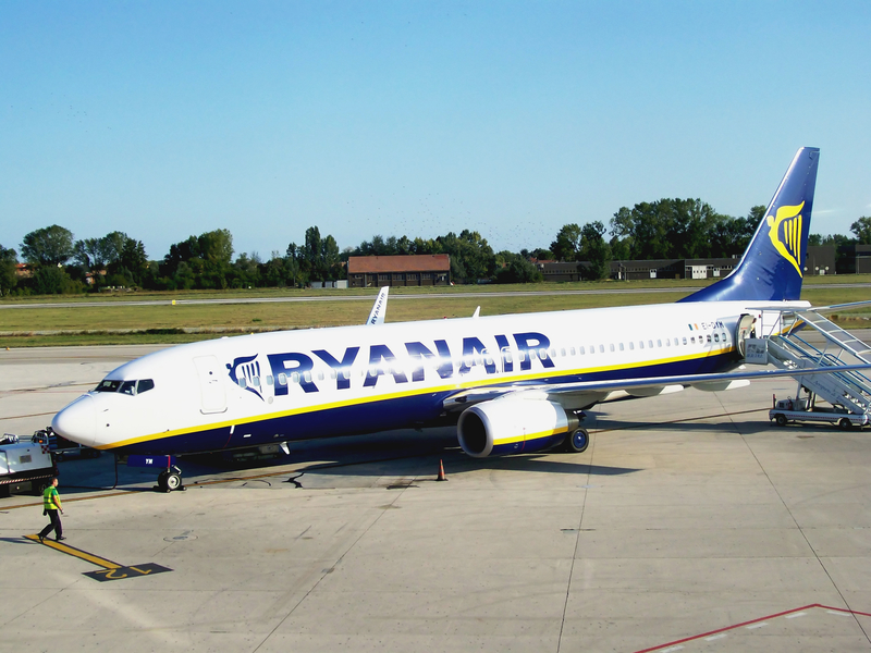 Treviso Airport is primarily served by low-cost carriers such as Ryanair.