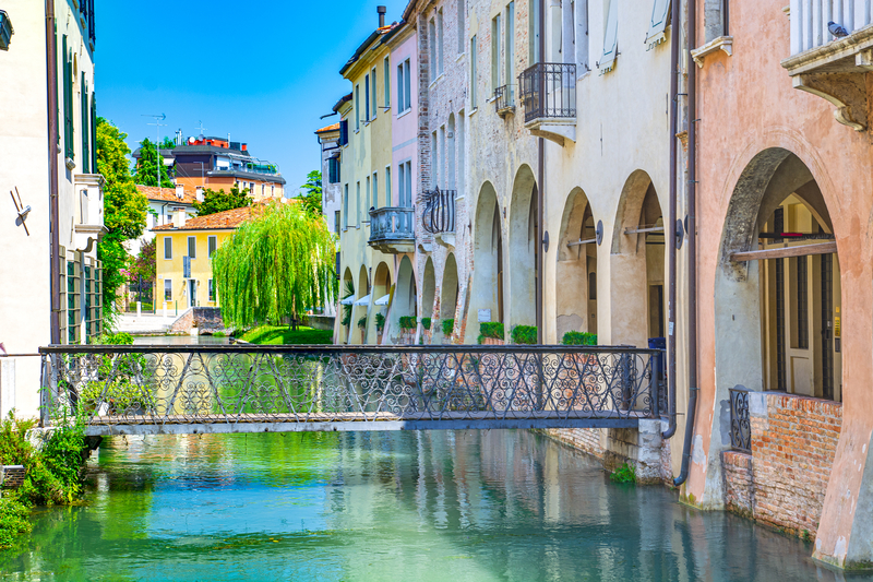 Treviso is strongly influenced by its neighbour city Venice.